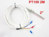 PT100 2M Cable 5cm Probe Temperature Sensor Thermocouple