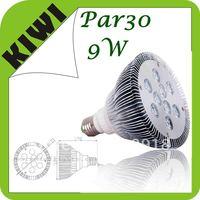 Free Shipping   9W Par 30 LED Lamp Bulb E27 Spot Light Cool/ Pure / Warm White 100-240V Hot selling !