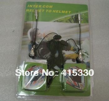 Universal Motorcycle Motorbike Helmet Intercom 2-Way Headset Mic