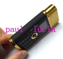 5pcs/lot! Luxury K08 Phone with Real Electronic Lighter Function(China (Mainland))