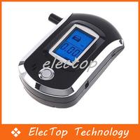 Free shipping Mini Digital LCD Breathalyzer Alcohol Breath Tester 20pcs/lot Wholesale