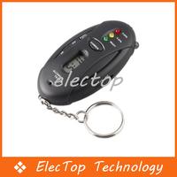 Free shipping Digital Alcohol Breath Tester Analyzer Breathalyzer 100pcs/lot Wholesale