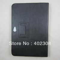 5pcs/lot Folio Leather Case Folding Cover Stand for Samsung Galaxy Note 10.1 N8000 N8010 Free Shipping