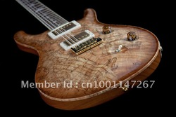(free shipping) prs guitar best Musical Instruments Limited Edition Custom 24 Ltd.Electric Guitar with spalted flame(China (Mainland))