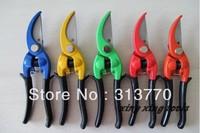 L23cm Free shipping 10pcs/lot mix color random send cutting capacity  D15mm garden scissors garden tools pruning scissors