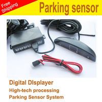 100% High quality car reversing assistant Parking sensor system Radar with LED screen 002