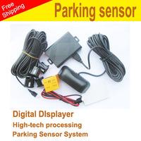 100% car reversing assistant Parking sensor system  Radar 004 withcolor  LED screen