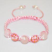 2012 powder  bracelet for gift free shipping