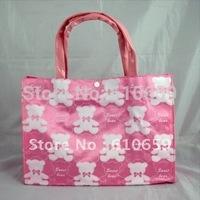 Pink Sweet Bear Women's Handbag Shopping bag handbag Tote Bag 1083