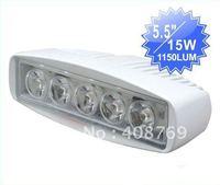 New Marine light 15W LED work light for truck,vehicle,atvs ,boats