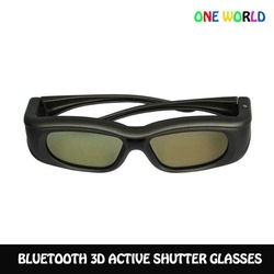 New Style Active Shutter 3D Glasses Support Bluetooth Samsung 3D LED Plasma TV D6300 D8000 Series UN55D6300SF PN64D8000F(China (Mainland))
