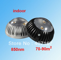 Array-infrared dome LED IR Illuminator IR Lamp CCTV camera IR light(850nm) 70-90 square meter