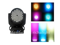 72X3W tricolor led moving head with beautiful color mixing wash effect
