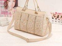 2014 new arrival retro lace women bag fashion women messenger bag desigual casual bag free shipping
