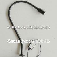 1W 12V/24V/AC85-265V OUTSIDE DRIVER LED flexibel pipe snake light gooseneck light