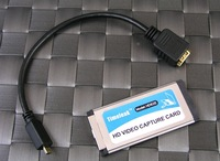 Laptop HDMI Express Video Capture Card For PS3 for XBOX360 720P/1080i ,free shipping
