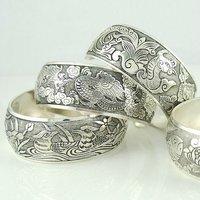 Wholesale 6pcs/lot  Elegant Tibetan Patterned  Silver Cuff Bracelets Retro Bangles  Free shipping +Drop shipping