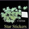 Free shipping 200pcs Home Wall Glow In The Dark Star Stickers Decal Baby Kids Gift Nursery Room