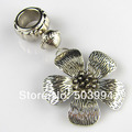 Fashion silver color scarf jewelry cube,DIY Flower Pendant (ZZ-77)