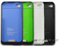 MOQ:1pcs ,1900mAh Back shell batteries for iphone 4 4s,For iphone1900mAh Battery Charging Po,HK/China Post Free Shipping,A0066