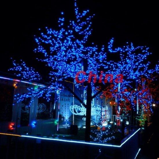 Free shipping 60 LED Solar String Christmas Lights Gardens