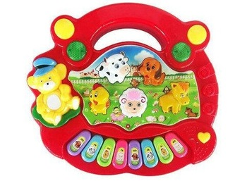 Animal music piano baby toy educational electronic keyboard