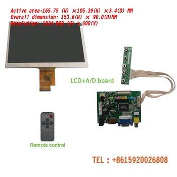 RaspberryPi HD 7 INCH  TFT LCD Module + HDMI& VGA&2AV A/D Board 1024*600 Resolution