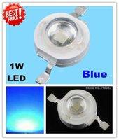 50pcs/lot, 1W Blue led beads, high power led light source, blue Ledsfor lamp DIY, (No: GH-1W-B ) freeshipping