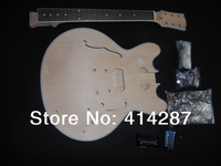 A06 free shipping jazz 335 model guitar kits for hot selling wholesale electric guitar kits