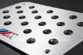 !!COOL!!High Quality of Thick 3D Sport Anodized Aluminium Racing Plate,////M X5 X6 E71 120i 335i