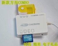 Wholesale USB2.0 Hub COMBO points line device + card reader 2 unity
