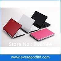 Newest  10 inches N2600 Netbook D13 Win7 Dual Core Notebook HDMI Output Built-in Wifi 1GB/160GB