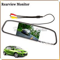 Free Shipping!640x480 4.3 Inch Color Digital TFT-LCD Screen Car Rear View Mirror Monitor