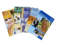 A5 brochures print flyers leaflet printing 157gsm gloss coated art paper