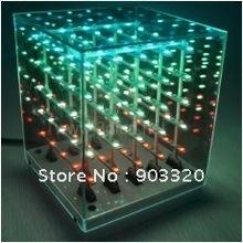 popular 3d led cube