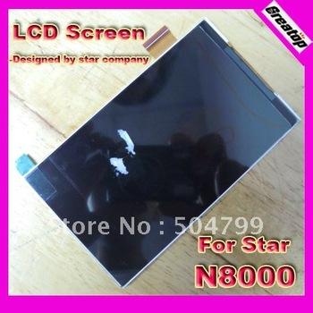 Star N8000 Original display lcd screen + screen protector for Star MTK6575 N8000 MTK6577 N8000+ dual sim android phone