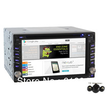 Hot In Dash Car Radio CD DVD Player 1Ghz Android 2.3 3G WiFi GPS+Free Backup Camera(China (Mainland))