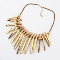 Restore ancient ways geometric triangle trend lun namely model necklace  $15 free delivery