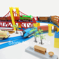 FREE SHIPPING Thomas train track electric toy set luxury !