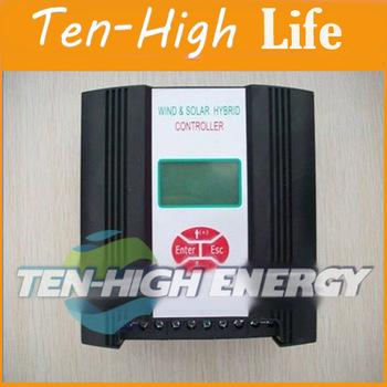 Fedex Freeshipping! 600w12V wind&solar hybrid controller(600w wind+200w solar+LCD display)