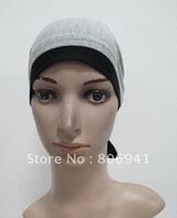 S248 new style tie back inner scarf,muslim underscarf
