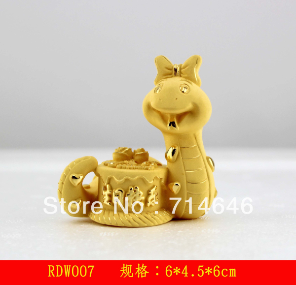 Rzlp flcking alluvial gold 2013 advanced 24K gold art gift Promotional birthday gift Gold crafts kids gift(China (Mainland))