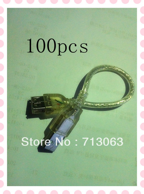 Wholesale 100 PCS transparent white USB revolution mother extension cord(China (Mainland))