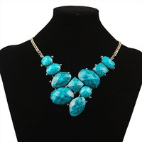 Min order $10.(mix order)Hot Sale BIB Dropping Beads Necklace Statement Necklace