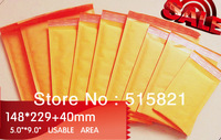 "New Made Golden Kraft  Bubble Mailer padding Envelopes 148mmx269mm  (6""x 9"")  50 pcs"