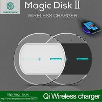 Original Nillkin Magic Disk Portable Qi Wireless Charger Pad For Samsung /Nokia /HTC Google Nexus 4 5 Free gift