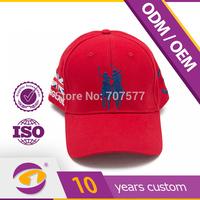 custom design embroidery baseball cap on sell 2014