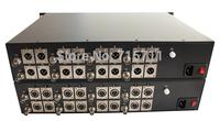 Broadcast Quality 8 Video16 Audio Digital Fiber Optical Transmitter and Receiver