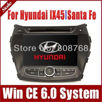 "8"" Auto Radio Car DVD Player GPS Navigator  for Hyundai IX45 Santa Fe 2013 with Bluetooth TV USB Auto Multimedia Player CAN Bus"