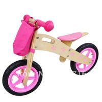 Free shipping wooden baby push bike